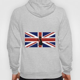 UK Silhouette and Flag Hoody