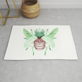 Thorned Atlas Beetle Rug