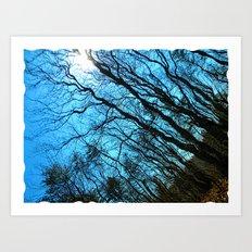 Sky Wrinkles Art Print