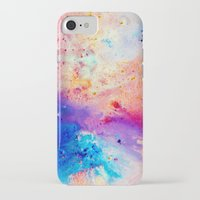 cosmos iPhone & iPod Cases featuring Cosmos by Kimsey Price
