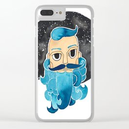 GENTLEMAN Clear iPhone Case