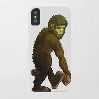 bigfoot iPhone & iPod Cases featuring Bigfoot by JoJo Seames