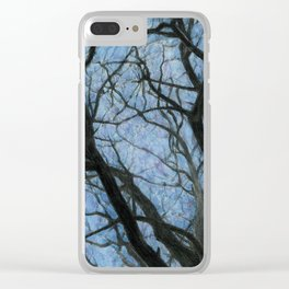 BETWEEN BRANCHES II Clear iPhone Case