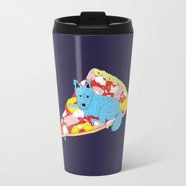 Pizza Dog Travel Mug