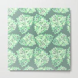 Polygonal zen. Metal Print