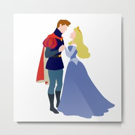 Aurora and Philip Metal Print