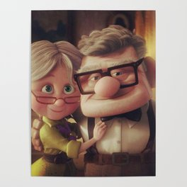 Carl And Ellie Wedding Poster