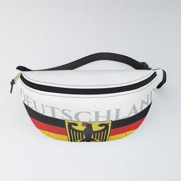 Deutschland ...German Flag and Eagle Fanny Pack