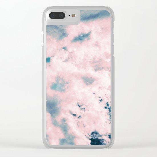 Aerial Sea Clear iPhone Case