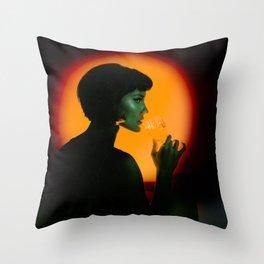 Fade Out Throw Pillow