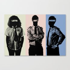 Work Color Canvas Print