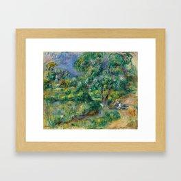 """Pierre-Auguste Renoir """"Le Béal"""" Framed Art Print"""