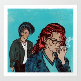 Two Punx (Reduced price for the Punx!) Art Print