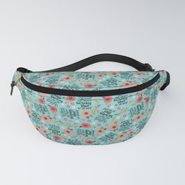 Pretty Sweary: She was too Fucking Tired Fanny Pack
