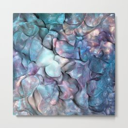 Abstract Galaxy 3D space Metal Print
