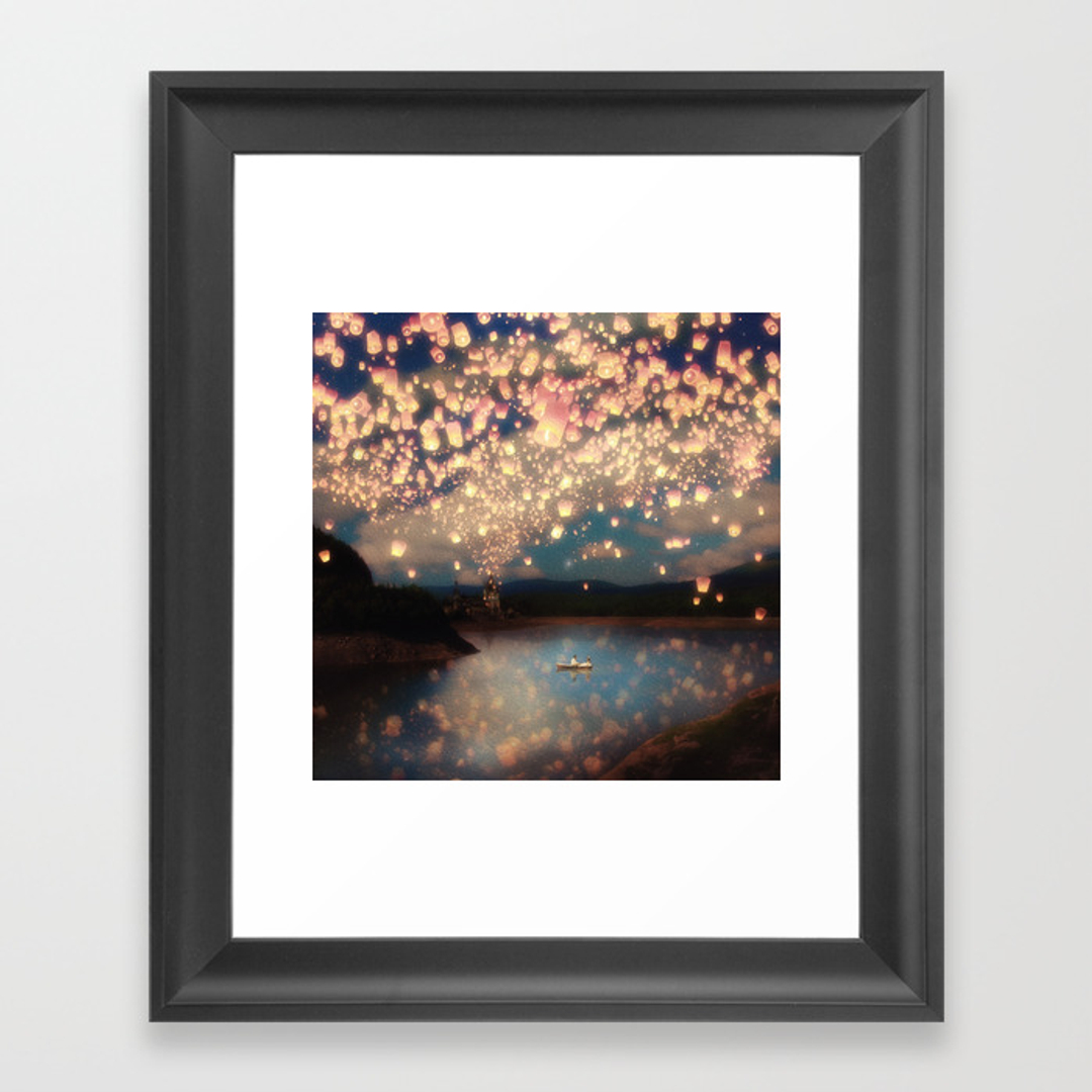 Painting framed art prints society6 for Wall art prints
