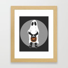 'Trick Or Treat' Framed Art Print