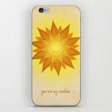 You are my sunshine... iPhone & iPod Skin