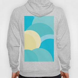 Abstract Geometric Circles Hoody