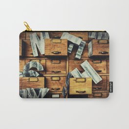 Filing System Carry-All Pouch