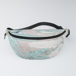 Marble - Mint Fanny Pack