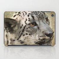 snow leopard iPad Cases featuring Snow Leopard by Jai Johnson