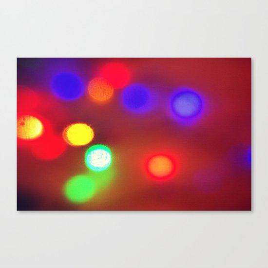 Colourful Lights Canvas Print