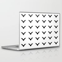 bats Laptop & iPad Skins featuring Bats by Katrina Zenshin