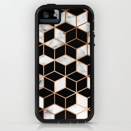 Marble & Geometry 005 iPhone Case