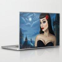 selena gomez Laptop & iPad Skins featuring Selena by Remus Brailoiu