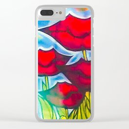 Blossom's Lips Clear iPhone Case