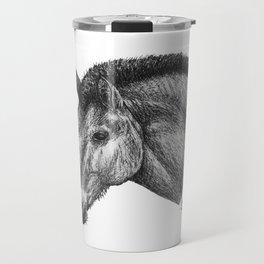 Przewalski's Horse Travel Mug