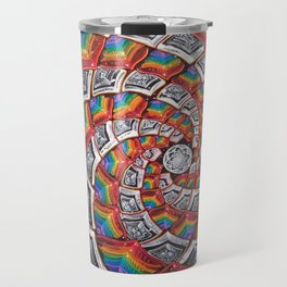 Tunnel To The Moon Travel Mug