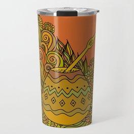 Yerba Mate In The Gourd Travel Mug
