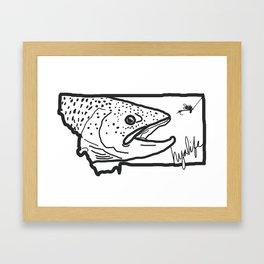 Hyalife Montana Signature  Framed Art Print
