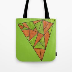Orange loves green Tote Bag