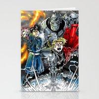 fullmetal Stationery Cards featuring Fullmetal Alchemist by MarioRojas