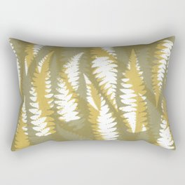 Fern Leaf Pattern 2 Rectangular Pillow