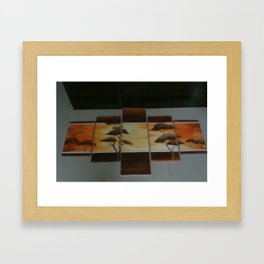 Painying Framed Art Print