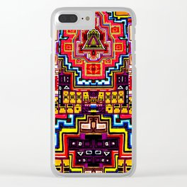 Deceptive Reality Clear iPhone Case