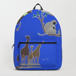 Plains Of Africa 2 Backpack