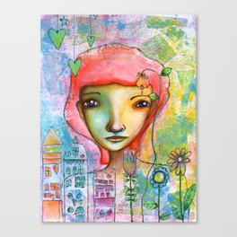 Just in Love...♥ Canvas Print