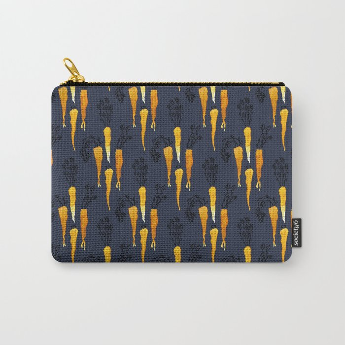 Carrot Diamonds Carry-All Pouch