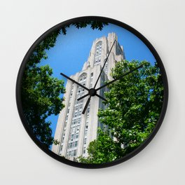 the cathedral of learning Wall Clock
