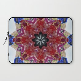 Red and blue classic trucks kaleidoscope Laptop Sleeve