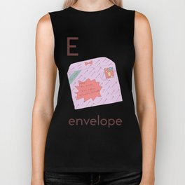 E is for Envelope Biker Tank