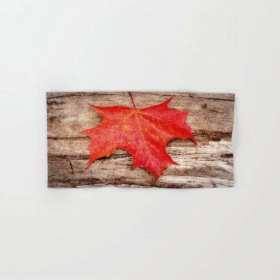 LEAF ME ALONE Hand & Bath Towel