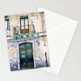 Antique Facade of Sicily Stationery Cards