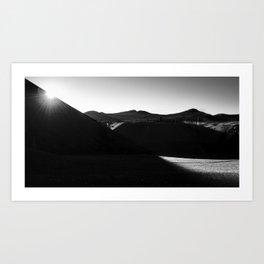Lassen Volcanic National Park - Sunrise  Art Print