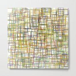 color rectangles 014 Metal Print